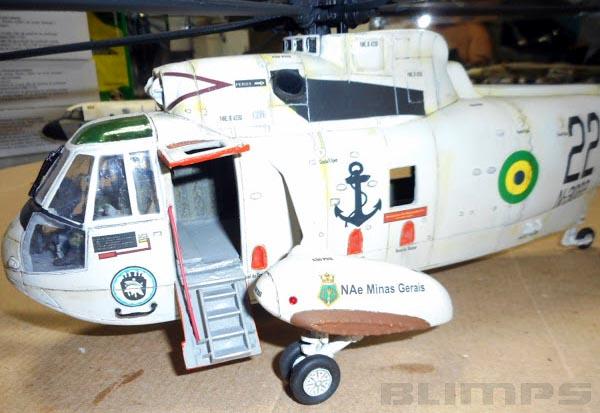Sikorsky SH-3 Sea King / Marinha do Brasil - 1/32 - GIIC  - BLIMPS COMÉRCIO ELETRÔNICO