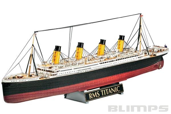 Gift-Set R.M.S. TITANIC - 1/400 - Revell 05715  - BLIMPS COMÉRCIO ELETRÔNICO