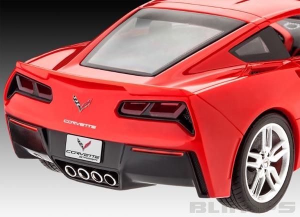 Model-Set Corvette Stingray 2014 - 1/25 - Revell 67060  - BLIMPS COMÉRCIO ELETRÔNICO