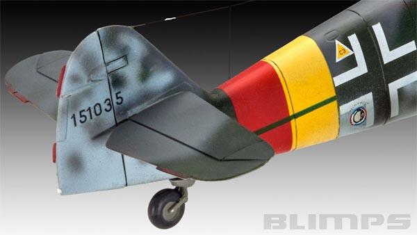 Messerschmitt Bf109 G-10 - 1/48 - Revell 03958  - BLIMPS COMÉRCIO ELETRÔNICO