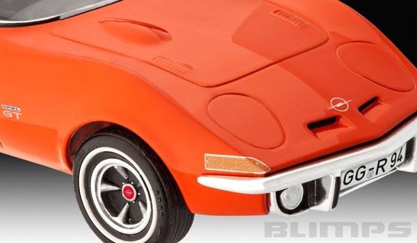 Opel GT - 1/32 - Revell 07680  - BLIMPS COMÉRCIO ELETRÔNICO