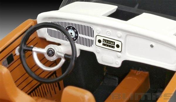 Volkswagen Beetle (Fusca) - 1/32 - Revell 07681  - BLIMPS COMÉRCIO ELETRÔNICO
