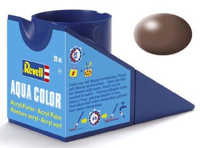Tinta Acrílica Revell Aqua Color Marrom Seda - Revell 36381  - BLIMPS COMÉRCIO ELETRÔNICO