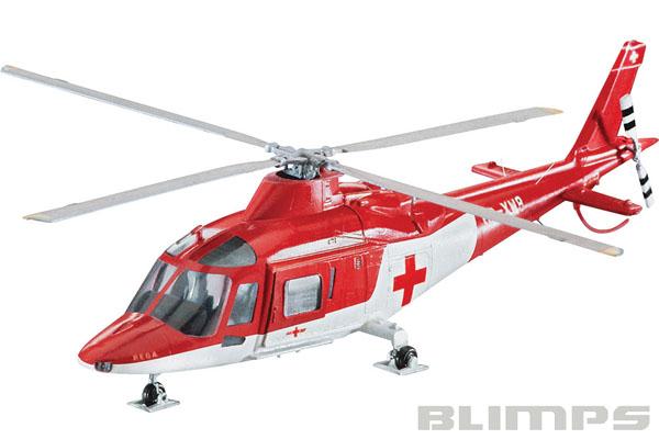 Model-Set A-109 K2 Rega - 1/72 - Revell 64941  - BLIMPS COMÉRCIO ELETRÔNICO