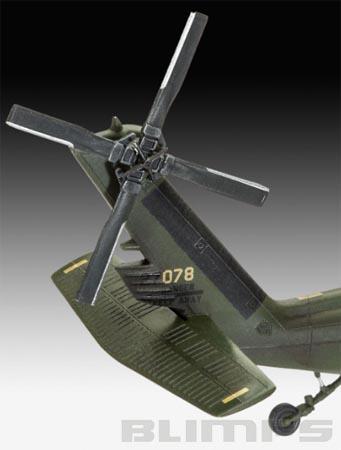 Model-Set UH-60A Transport Helicopter - 1/72 - Revell 64940  - BLIMPS COMÉRCIO ELETRÔNICO
