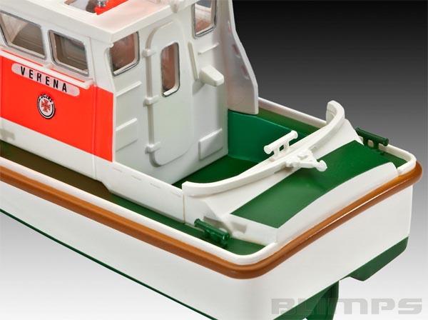 Model-Set Rescue Boat Walter Rose/Verena - 1/72 - Revell 65214  - BLIMPS COMÉRCIO ELETRÔNICO