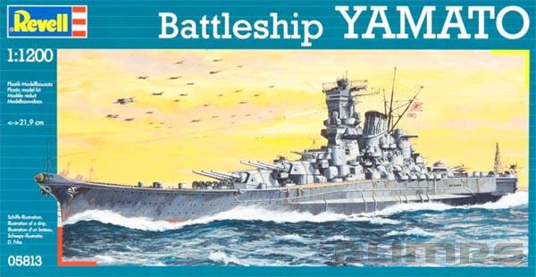 Couraçado Yamato - 1/1200 - Revell 05813  - BLIMPS COMÉRCIO ELETRÔNICO