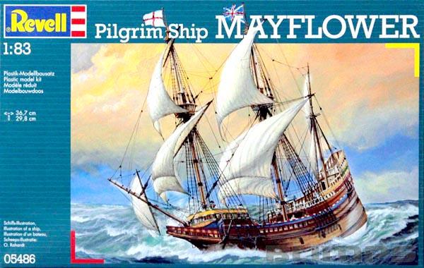 Pilgrim Ship Mayflower - 1/83 - Revell 05486  - BLIMPS COMÉRCIO ELETRÔNICO