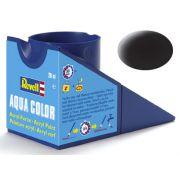 Tinta Acrílica Revell Aqua Color Preto Fosco - Revell 36108
