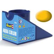 Tinta Acrílica Revell Aqua Color Amarelo Fosco - Revell 36115