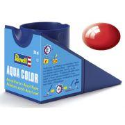 Tinta Acrílica Revell Aqua Color Vermelho Brilhante - Revell 36131