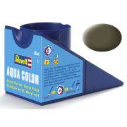 Tinta Acrílica Revell Aqua Color Oliva NATO/OTAN - Revell 36146