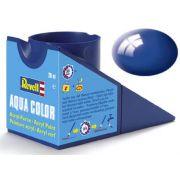 Tinta Acrílica Revell Aqua Color Azul Ultramarino (Azulão) - Revell 36151