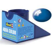 Tinta Acrílica Revell Aqua Color Azul Ultramarino - Revell 36152