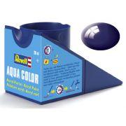 Tinta Acrílica Revell Aqua Color Azul Noite Brilhante - Revell 36154