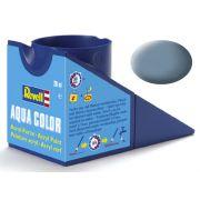Tinta Acrílica Revell Aqua Color Cinza Fosco - Revell 36157