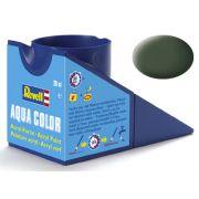 Tinta Acrílica Revell Aqua Color Verde Bronze Fosco - Revell 36165