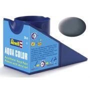 Tinta Acrílica Revell Aqua Color Cinza Fosco - Revell 36177