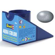 Tinta Acrílica Revell Aqua Color Aço Metálico - Revell 36191
