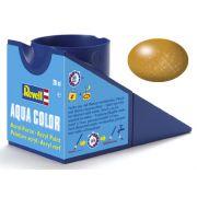 Tinta Acrílica Revell Aqua Color Latão - Revell 36192