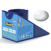 Tinta Acrílica Revell Aqua Color Branco Sólido Seda - Revell 36301