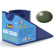 Tinta Acrílica Revell Aqua Color Verde Oliva Seda - Revell 36361