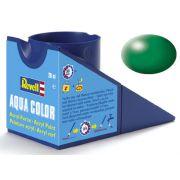 Tinta Acrílica Revell Aqua Color Verde Folha Seda - Revell 36364