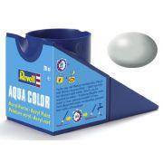 Tinta Acrílica Revell Aqua Color Cinza Claro Silk - Revell 36371