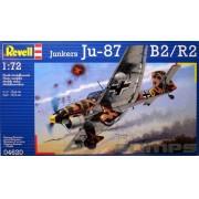 Junkers Ju-87 B2/R2 Stuka - 1/72 - Revell 04620