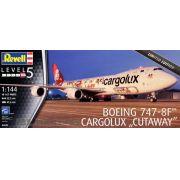 """Boeing 747-8F Cargolux """"Cutaway"""" - 1/144 - Revell 04949"""