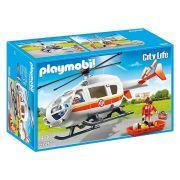 Playmobil City Life - Helicóptero de Emergência Médica - 6686