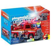 Playmobil City Action - Caminhão de Bombeiro com Escada - 5682