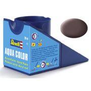 Tinta Acrílica Revell Aqua Color Marrom Couro - Revell 36184
