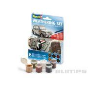 Jogo de 6 Pigmentos para Ambientação e Detalhamento - Revell 39066