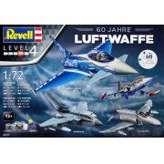Gift Set 60 Anos da Luftwaffe - 4 kits - 1/72 - Revell 05797