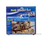 Model-Set UH-60A Transport Helicopter - 1/72 - Revell 64940