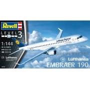 Embraer 190 Lufthansa - 1/144 - Revell 03937