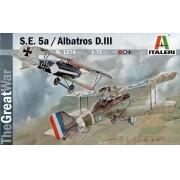 S.E. 5a e Albatros D.III - 1/72 - Italeri 1374