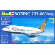 Boeing 737-200 British Airways - 1/200 - Revell 04232