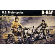 2 Motocicletas Harley Davidson - Dia D - 1/35 - Italeri 322