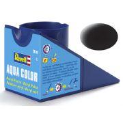 Tinta Acrílica Revell Aqua Color Preto Brilhante - Revell 36107