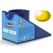 Tinta Acrílica Revell Aqua Color Amarelo Brilhante - Revell 36112