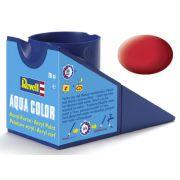 Tinta Acrílica Revell Aqua Color Vermelho Carmim Seda - Revell 36136