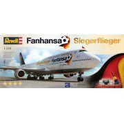 Boeing 747-8 Lufthansa Fanhansa Siegerflieger - 1/144 - Revell 01111