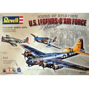 Gift Set U.S. Legends: 8th Air Force - 3 kits - 1/72 - Revell 05794