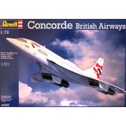 Concorde British Airways - 1/72 - Revell 04997