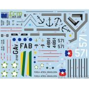 Decalque Albatros FAB 1/144 - FCM 144-031