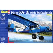Piper PA-18 with Bushwheels - 1/32 - Revell 04890