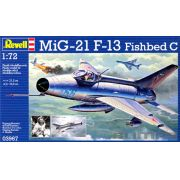 MiG-21 F-13 Fishbed C - 1/72 - Revell 03967