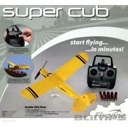Piper Micro Super Cub Elétrico 2.4 GHz - RTF - 450 mm - Flyzone FLZ A2552